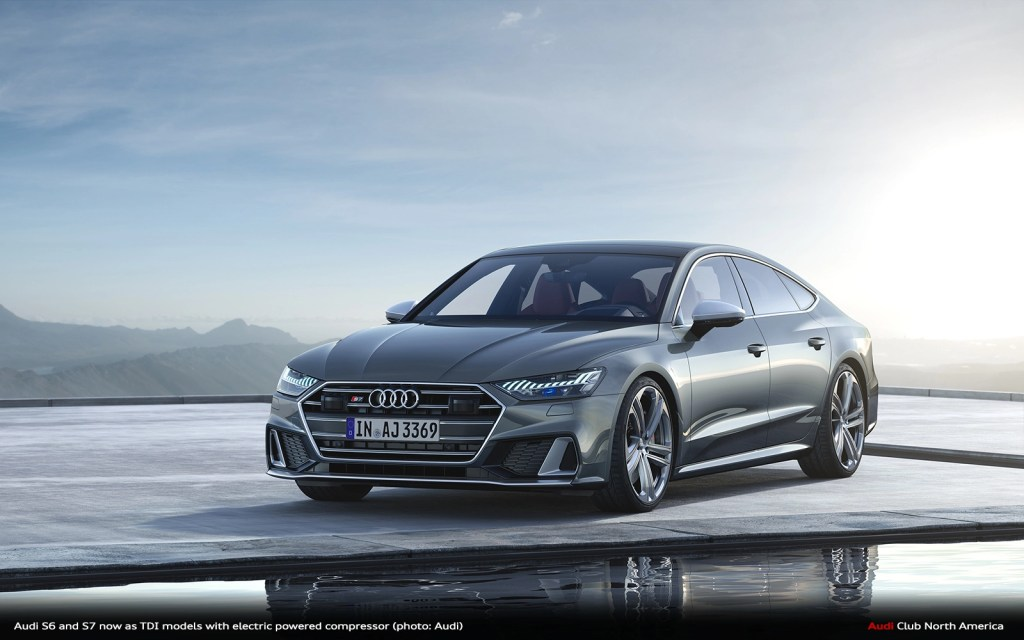 Agility For The Long Haul: Audi S6 and S7 Now As TDI Models with Electric Powered Compressor