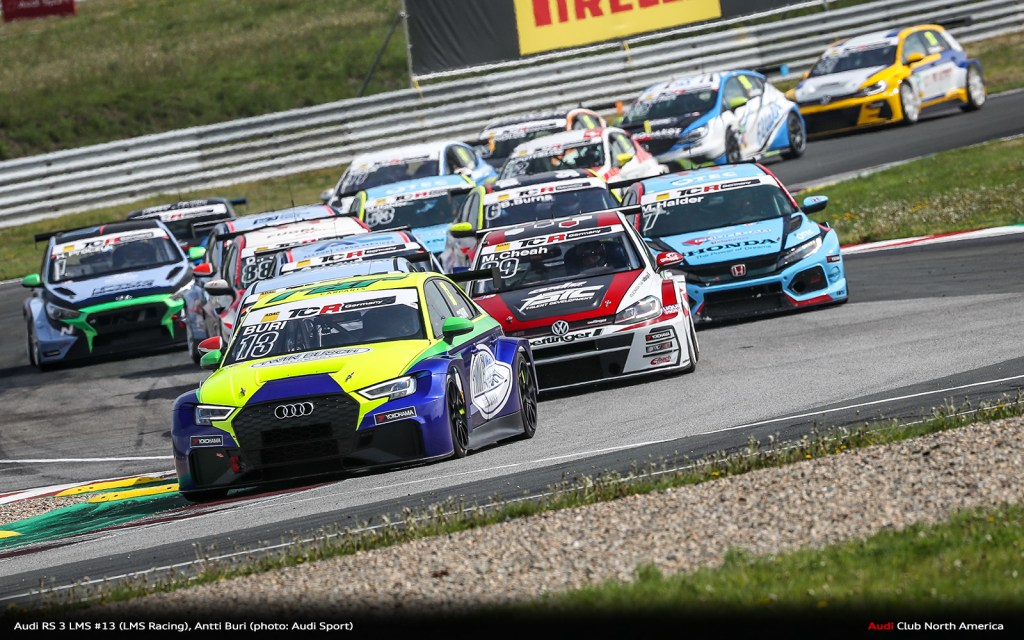 Audi RS 3 LMS with Victories in Germany, America and Japan