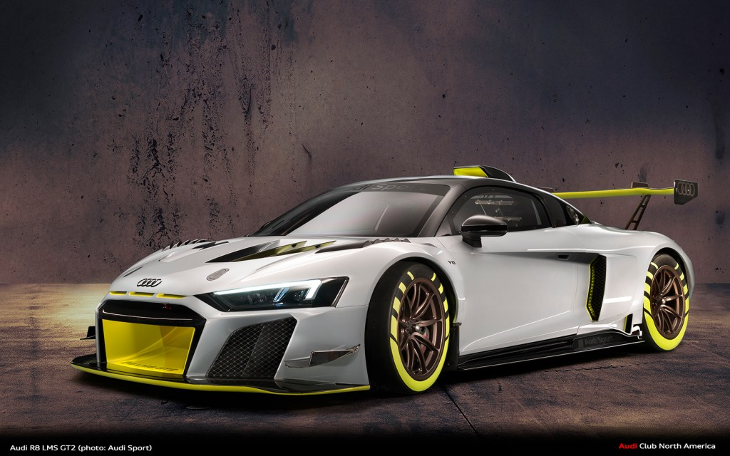 Audi R8 LMS GT2 Makes US Debut During Monterey Car Week