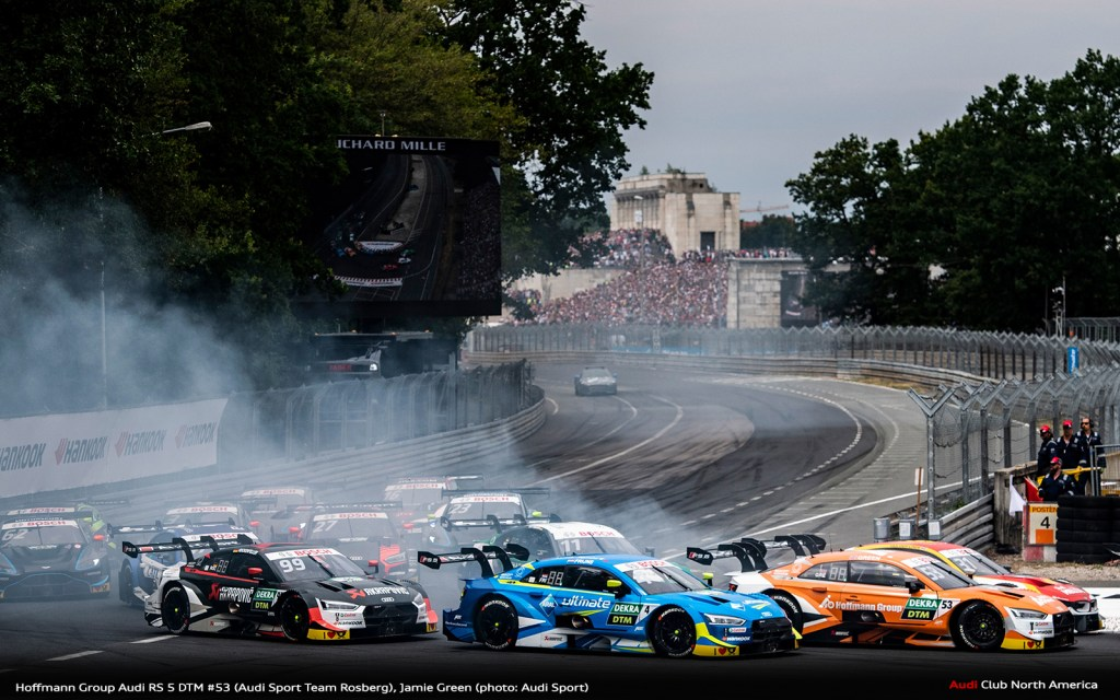 Audi With Strongest Ever Norisring Showing