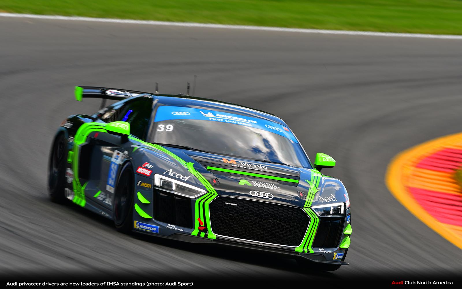 Audi Privateer Drivers Are New Leaders of IMSA Standings