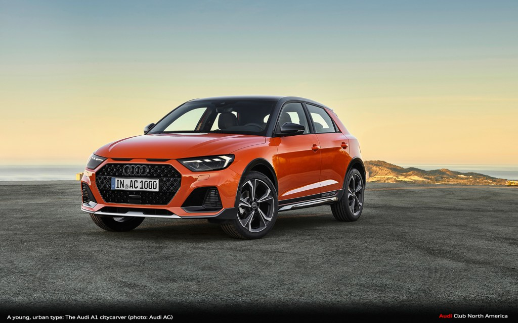 A Young, Urban Type: The Audi A1 citycarver