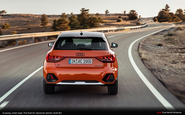 A Young Urban Type The Audi A1 Citycarver Audi Club North America