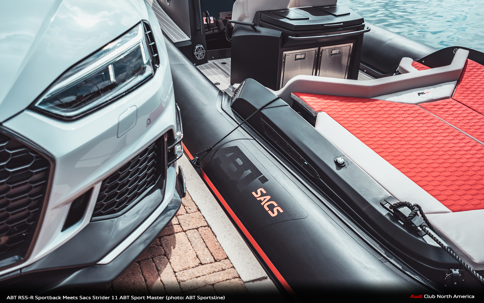 Fire and Water: ABT RS5-R Sportback Meets Sacs Strider 11 ABT Sport Master