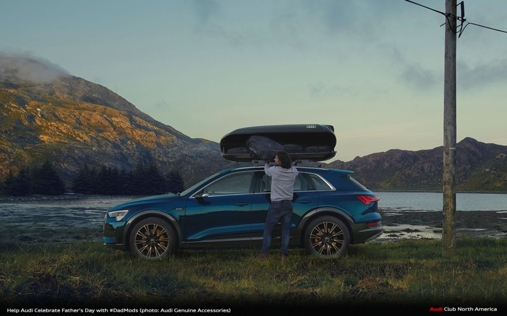 Help Audi Celebrate Father's Day with #DadMods...and Your Dad(Bod)