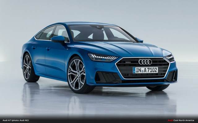 New Audi A7 Sportback: Sporty Face of the Full-Size Class