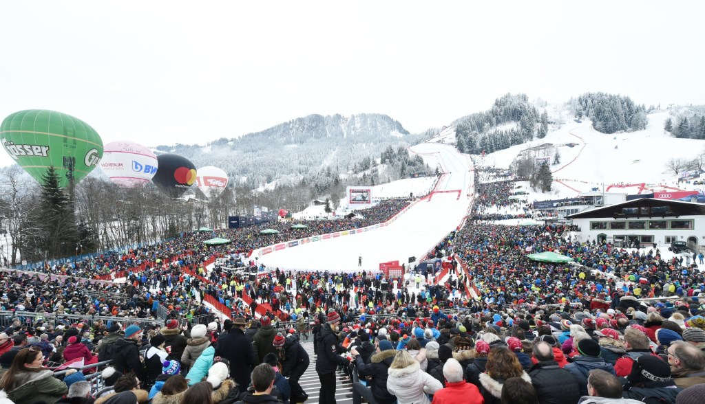 Audi e-tron Fleet Shuttle Service Hahnenkamm Race and FIS Alpine World Ski Championships 2019
