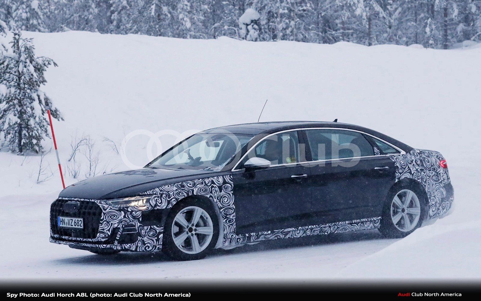 Spy Photo: Audi Horch A8L
