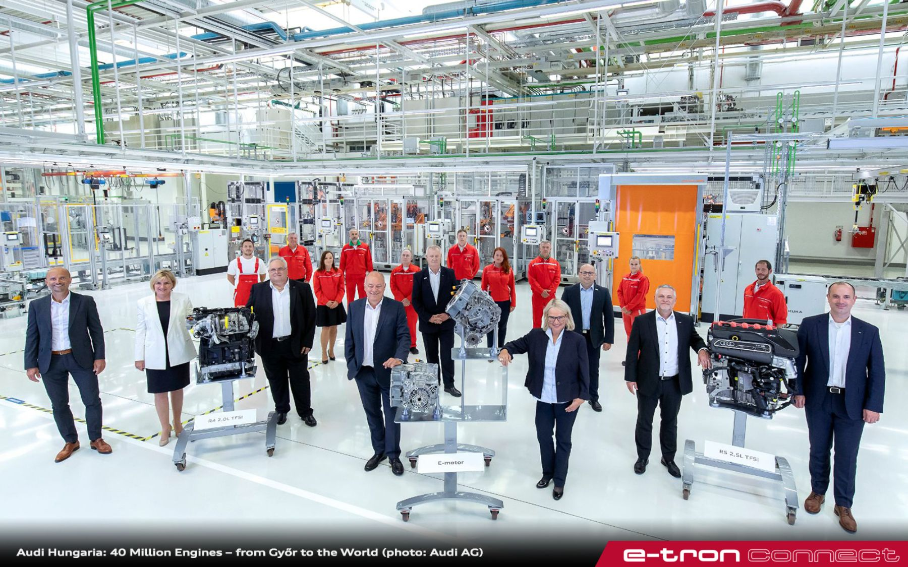 Audi Hungaria: 40 Million Engines – from Győr to the World