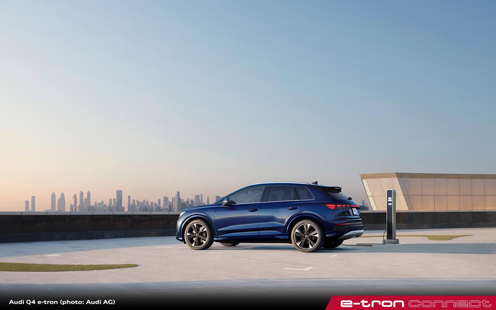 Audi Q4 e-tron: Progressive. Approachable. Premium Electric Mobility.