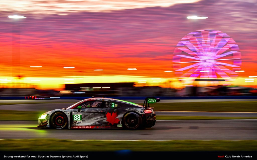 Strong Weekend for Audi Sport at Daytona