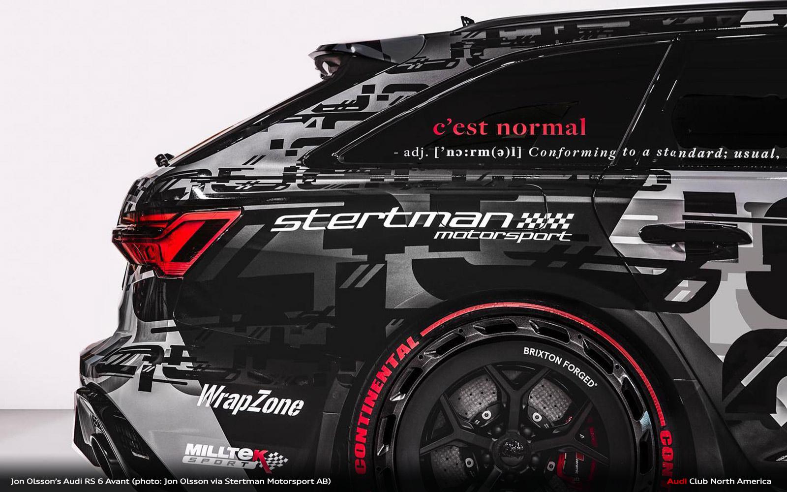 Jon Olsson's New Audi RS 6 Avant Revealed