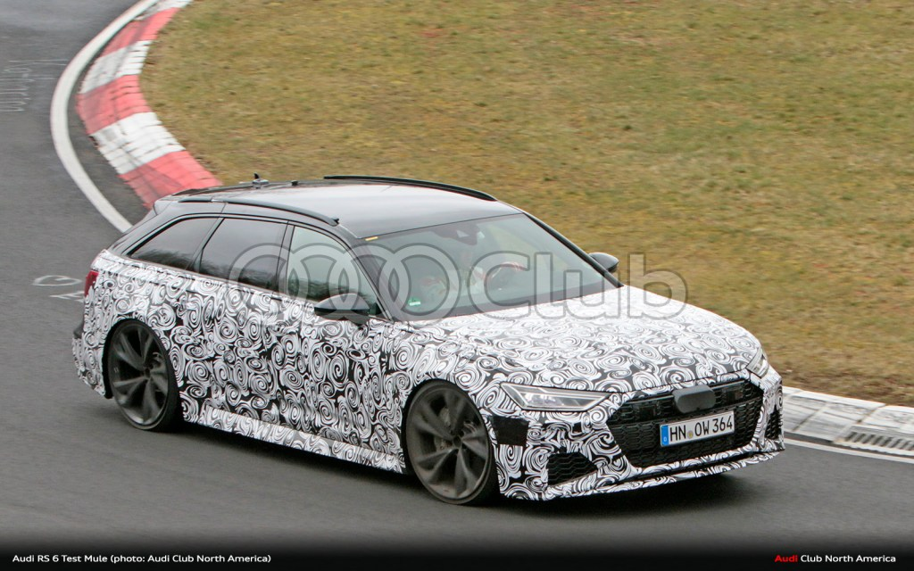 More Next-Gen RS 6 Avant Photos from Nürburgring