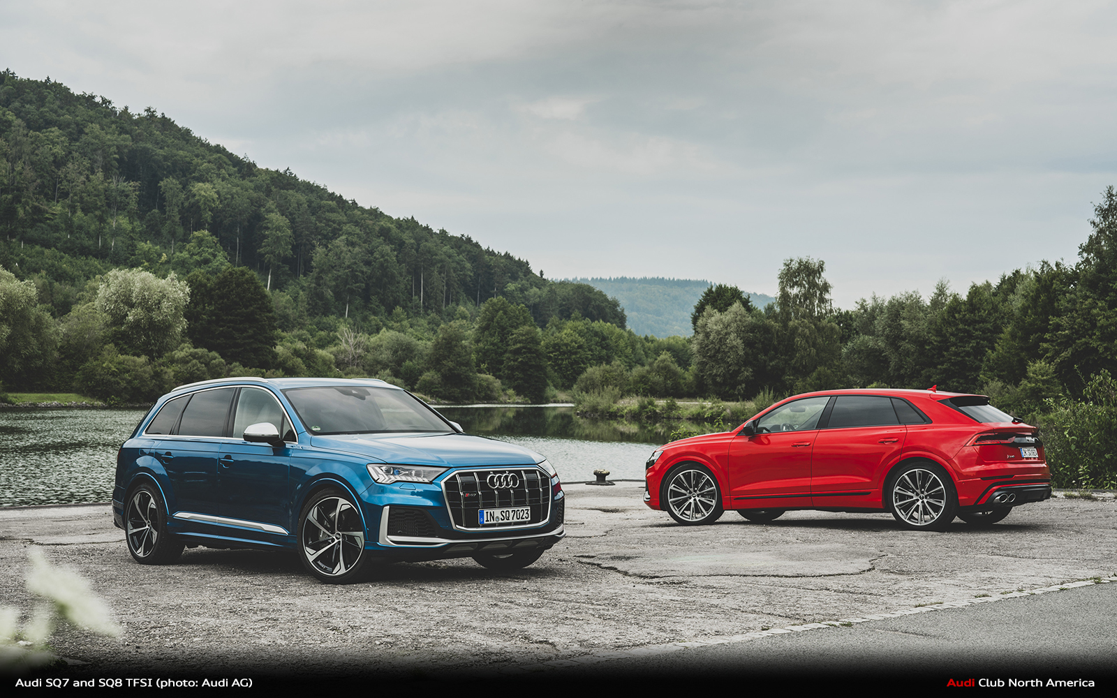 Sporty Character with a Superior Performance: The Audi SQ7 and SQ8 with V8 TFSI Gasoline Engine