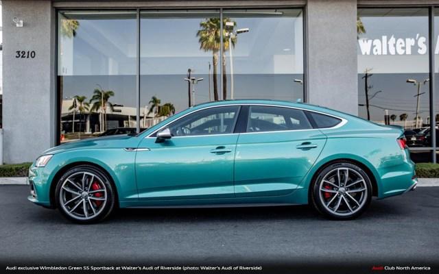 Walters Audi Taps 90s Porsche Green For S5 Sportback Audi Club
