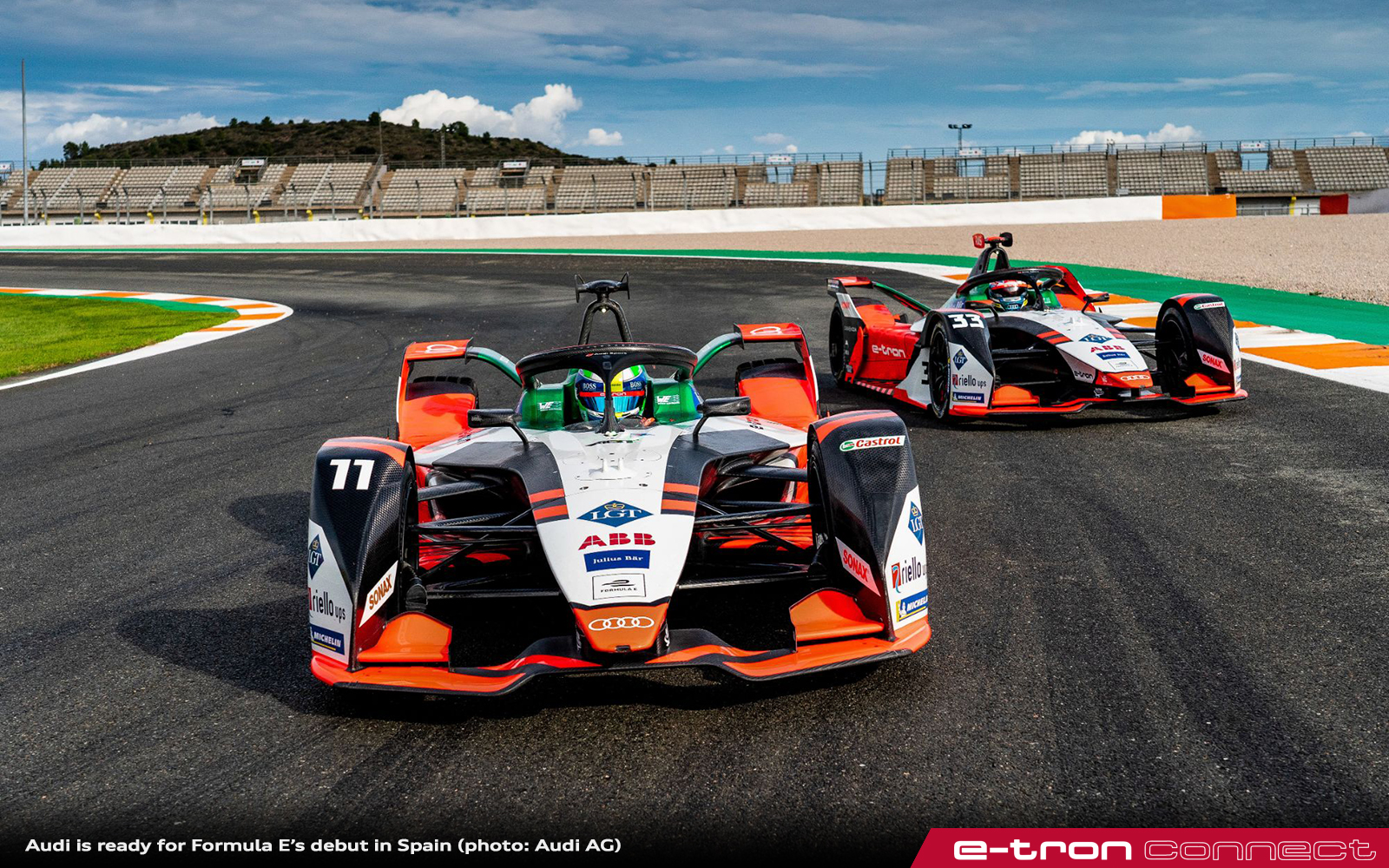 Audi is Ready for Formula E's Debut in Spain