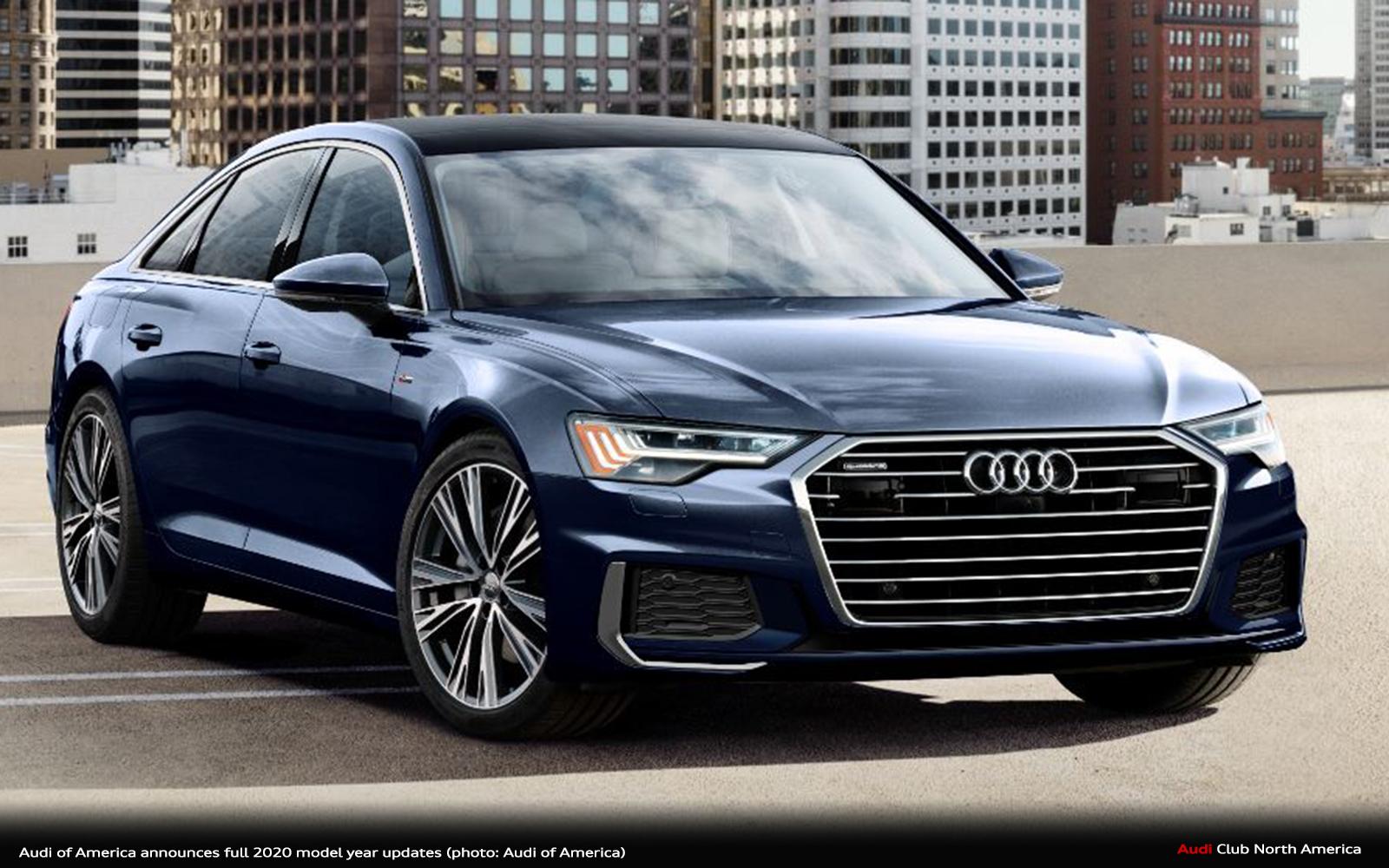 Audi A5 Sportback >> Audi-of-America-announces-full-2020-model-year-updates ...