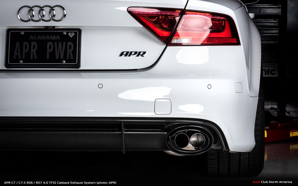 APR C7 / C7.5 RS6 / RS7 4.0 TFSI Catback Exhaust System