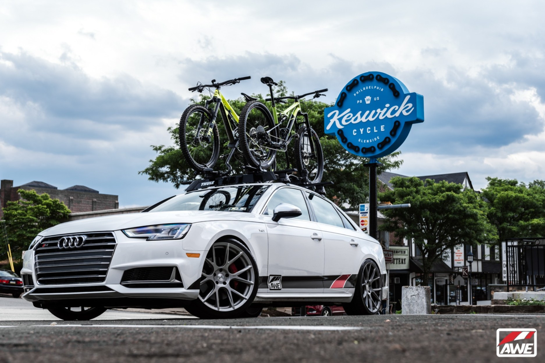 AWE Announces B9 S4 Project Car, Partners With Thule, Cannondale, H&R, Vossen, and Yokohama