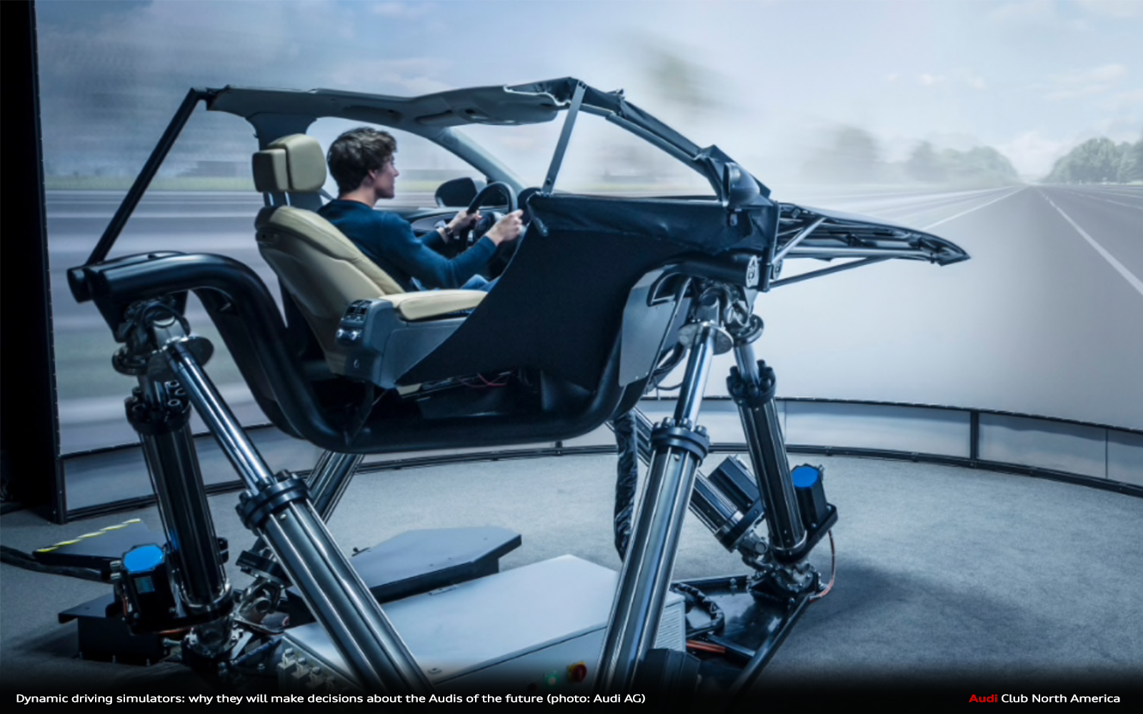Dynamic Driving Simulators: Why They Will Make Decisions About The Audis Of The Future