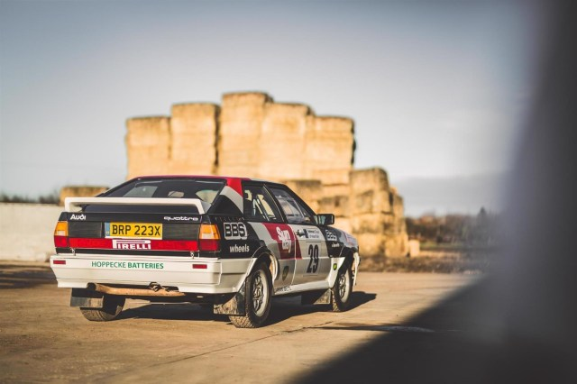 If You Fancy Owning A Quattro With Fascinating History Heres Your Chance Find It For Sale On PistonHeads