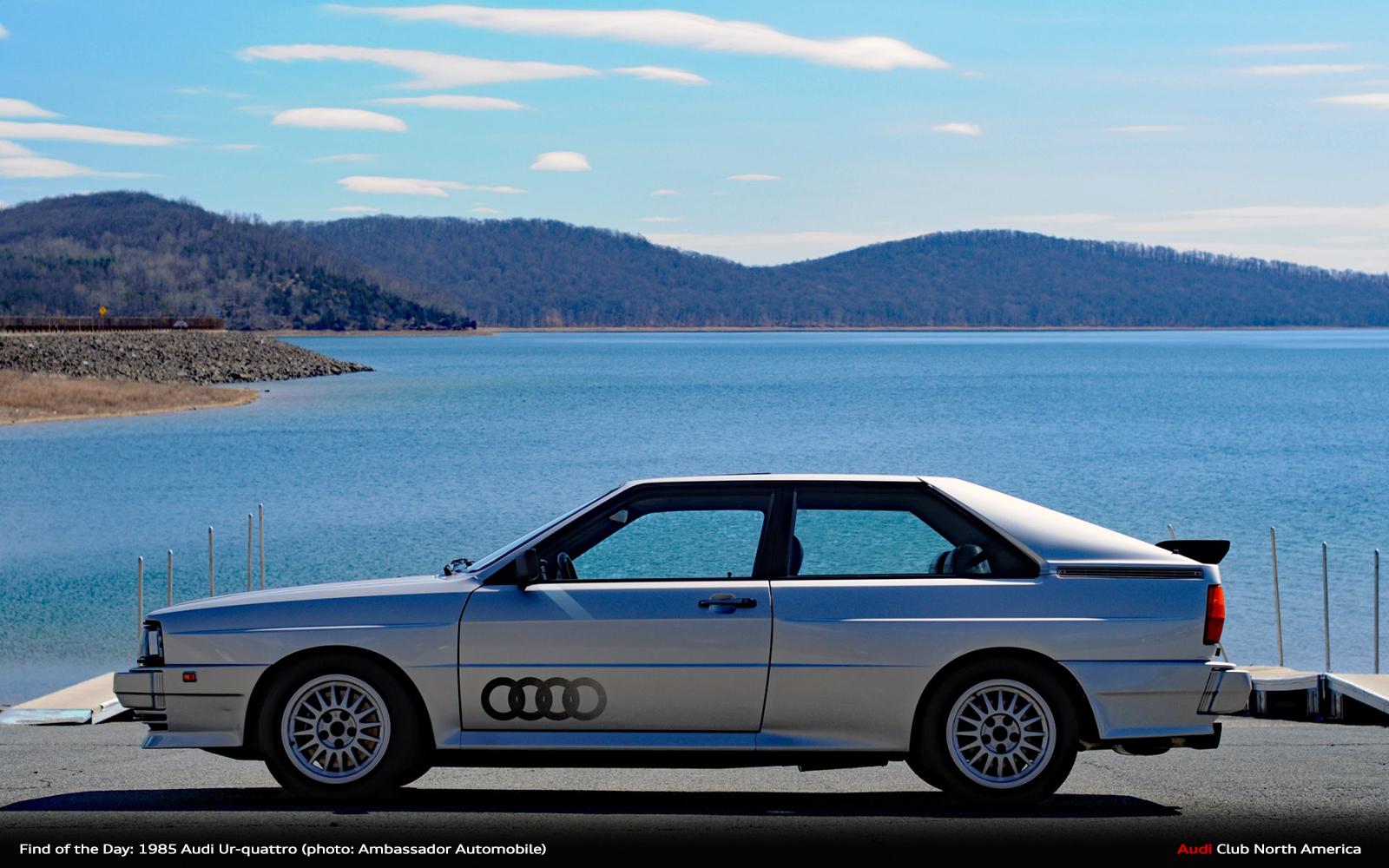 Find of the Day 1985 Zermatt Silver Audi Ur,quattro , Audi