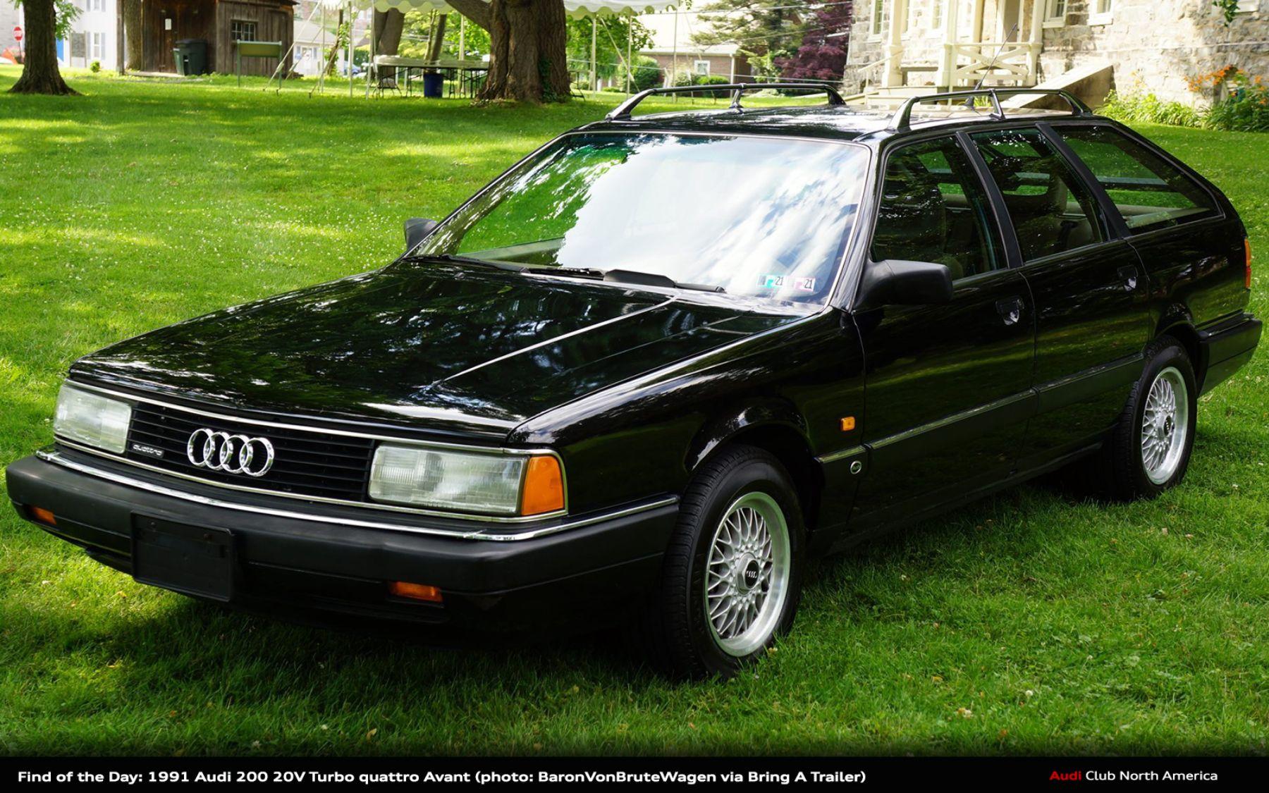 Find of the Day: 1991 Audi 20V Turbo quattro Avant