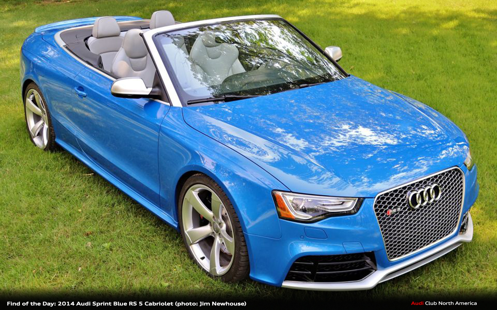 Find of the Day: 2014 Audi Sprint Blue RS 5 Cabriolet