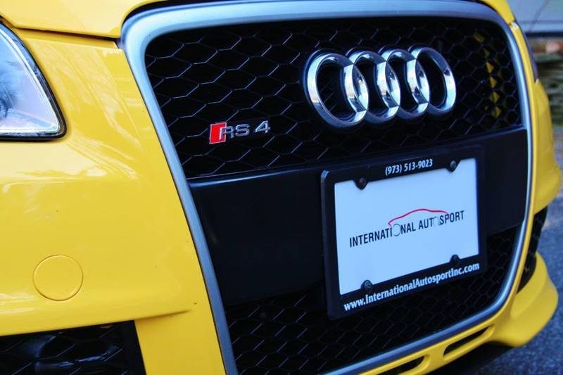Find of the Day: 2008 Imola Yellow Audi RS 4 Cabriolet