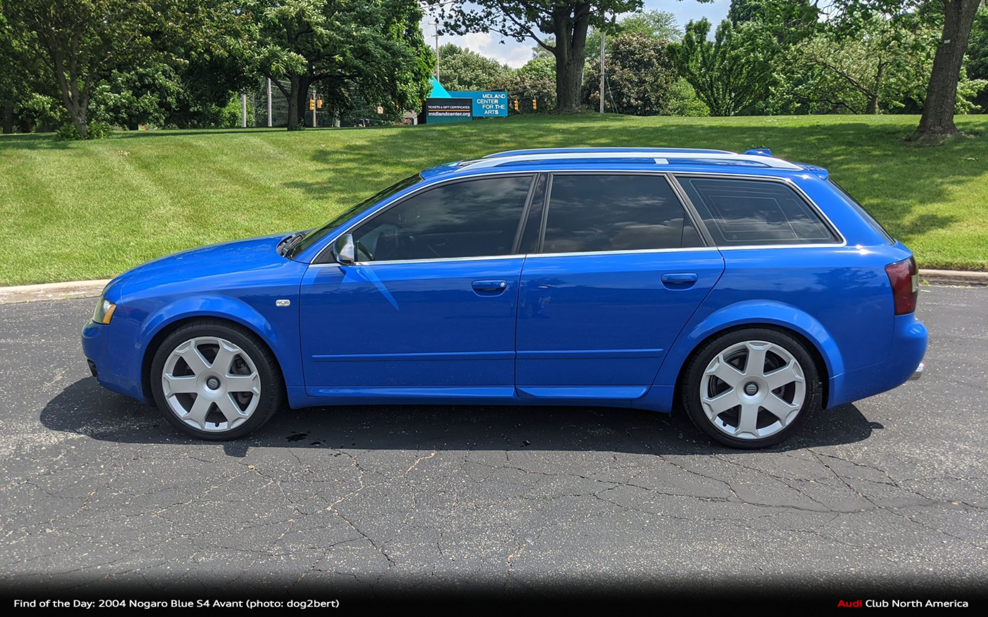 Find of the Day: 2004 Nogaro Blue S4 Avant 6sp