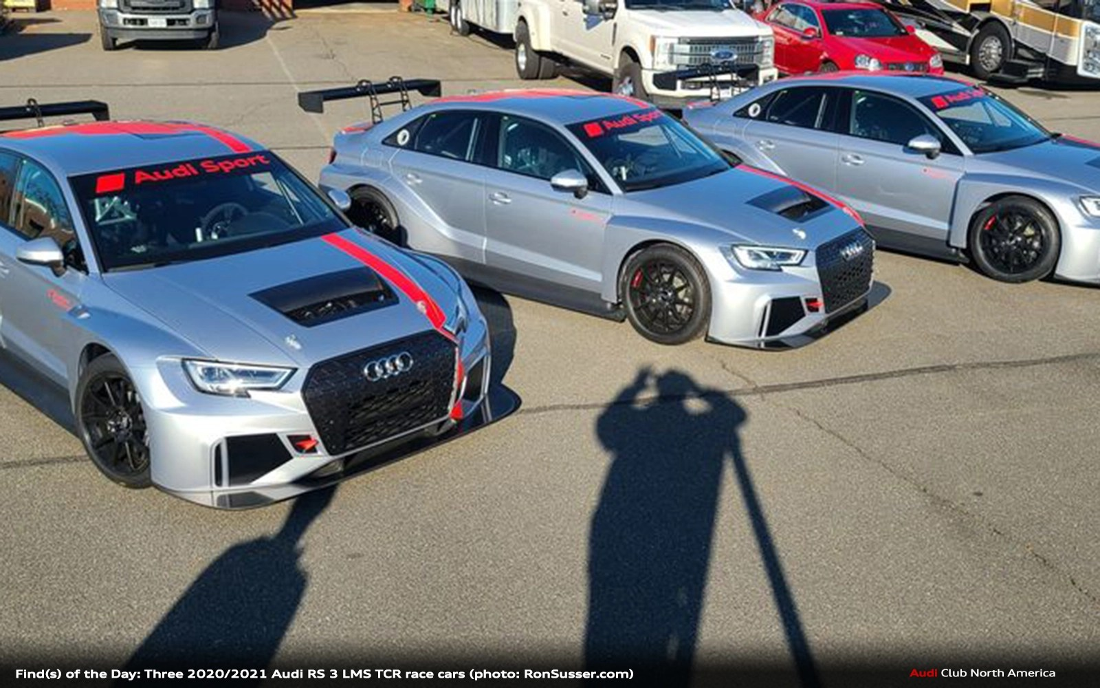 Find(s) of the Day: Three Race Ready 2020/2021 Audi Sport RS 3 LMS TCR