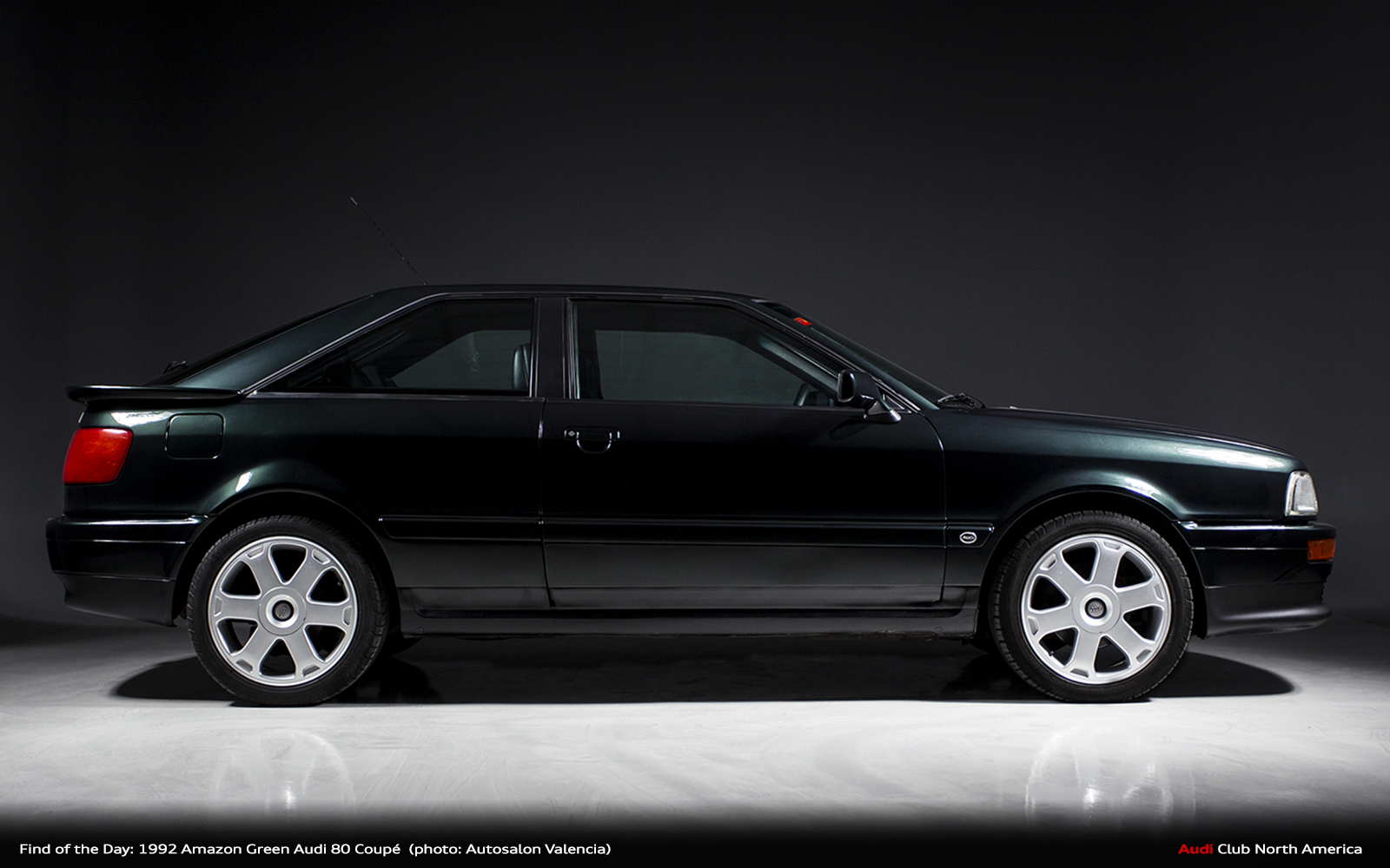 Find of the Day: 1992 Amazon Green Audi 80 Coupé