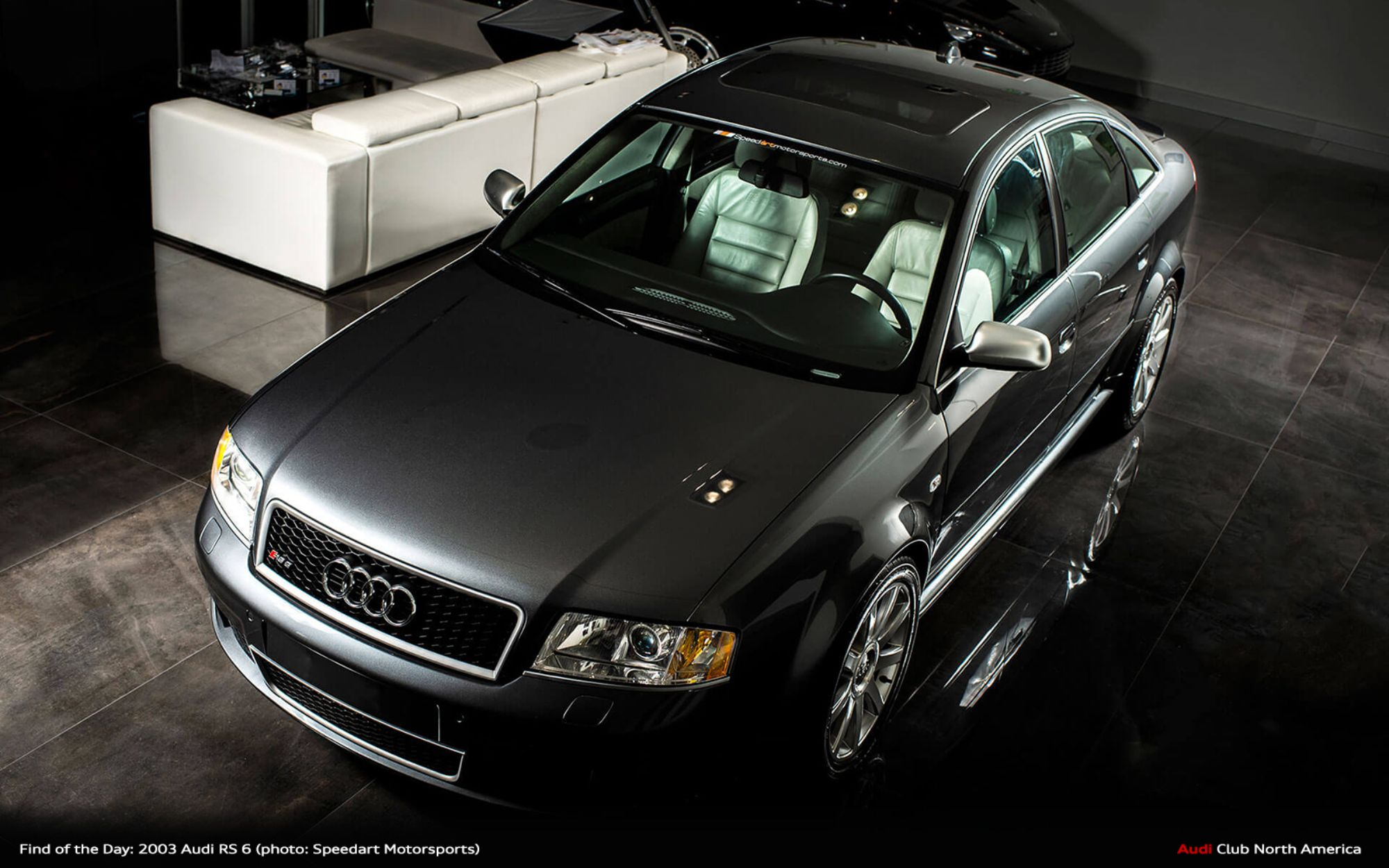 Find of the Day: 2003 Daytona Grey Audi RS 6