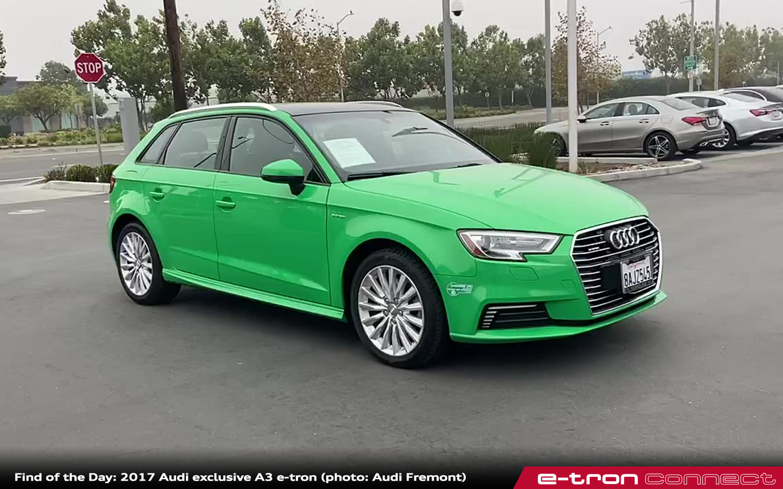Find of the Day: 2017 Audi exclusive A3 e-tron