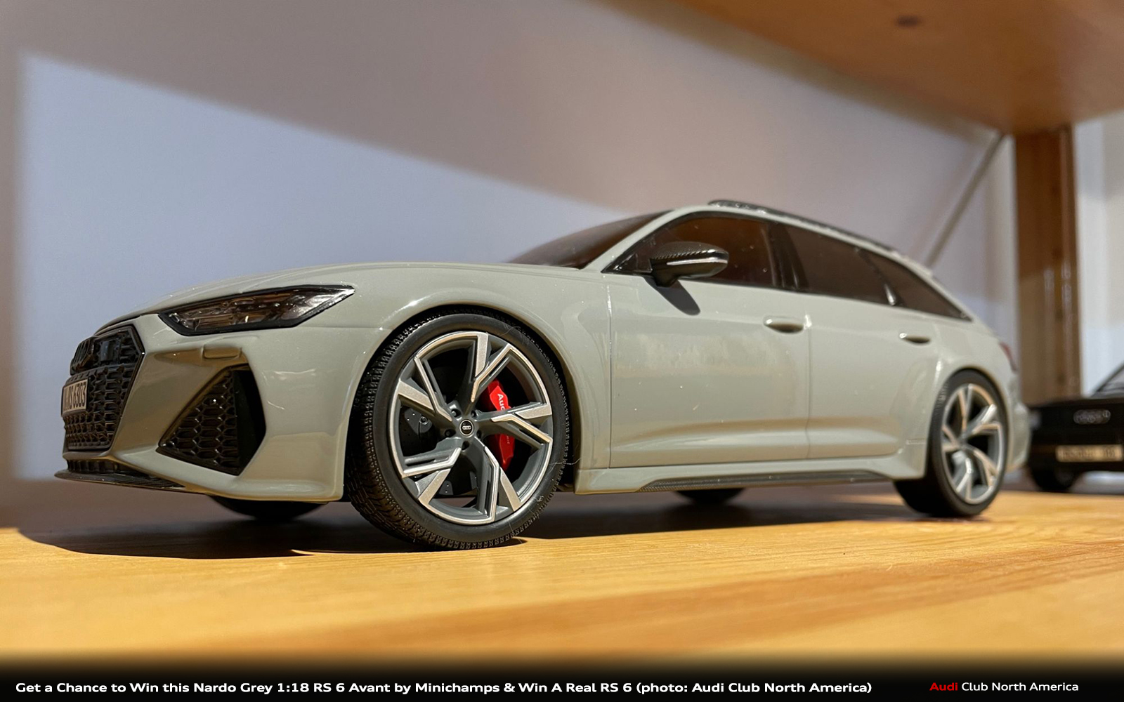 Tomorrow is the Last Day for a Chance to Win This 1:18 Scale Audi RS 6 Avant Model From Minichamps
