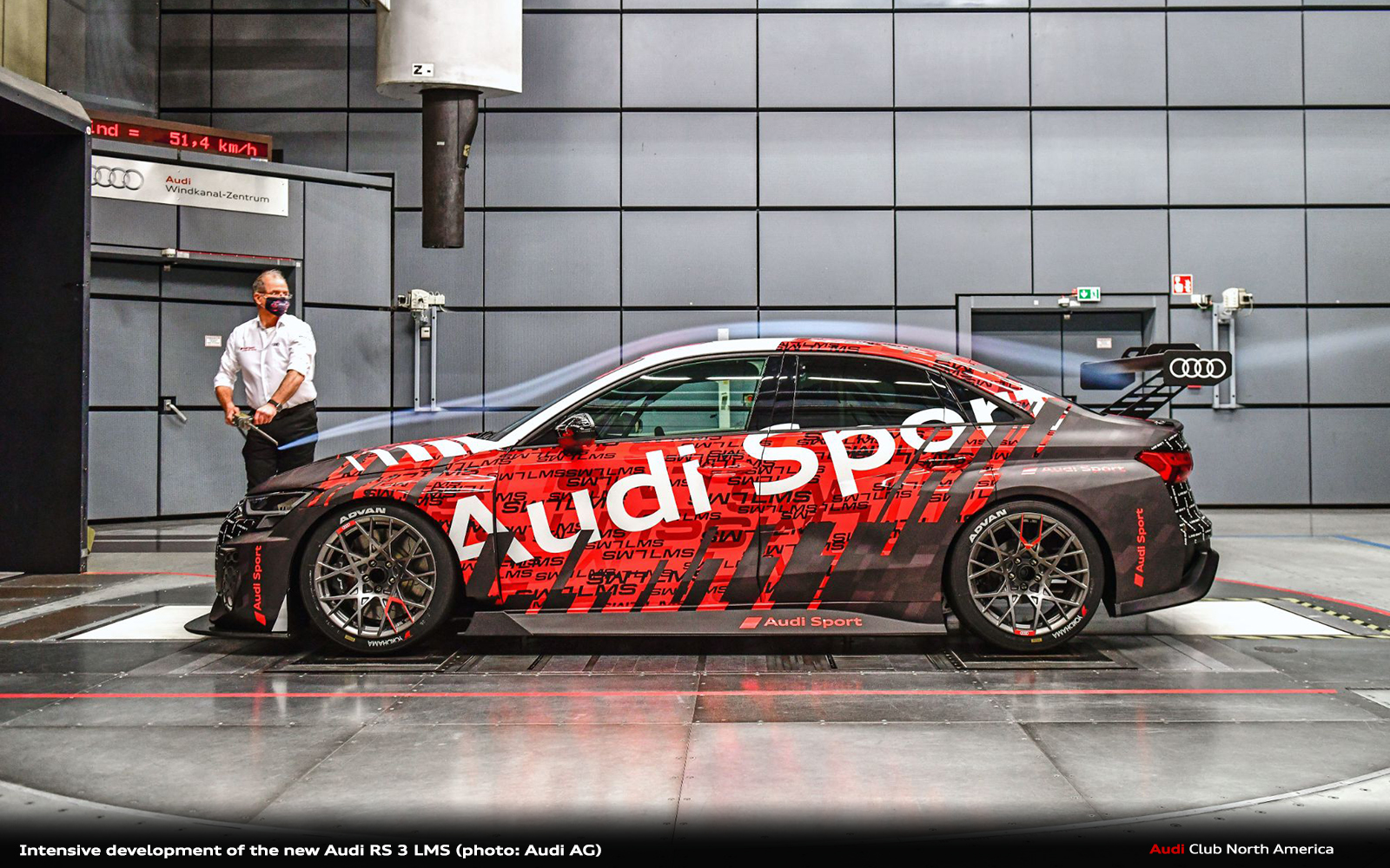 Intensive Development of the New Audi RS 3 LMS