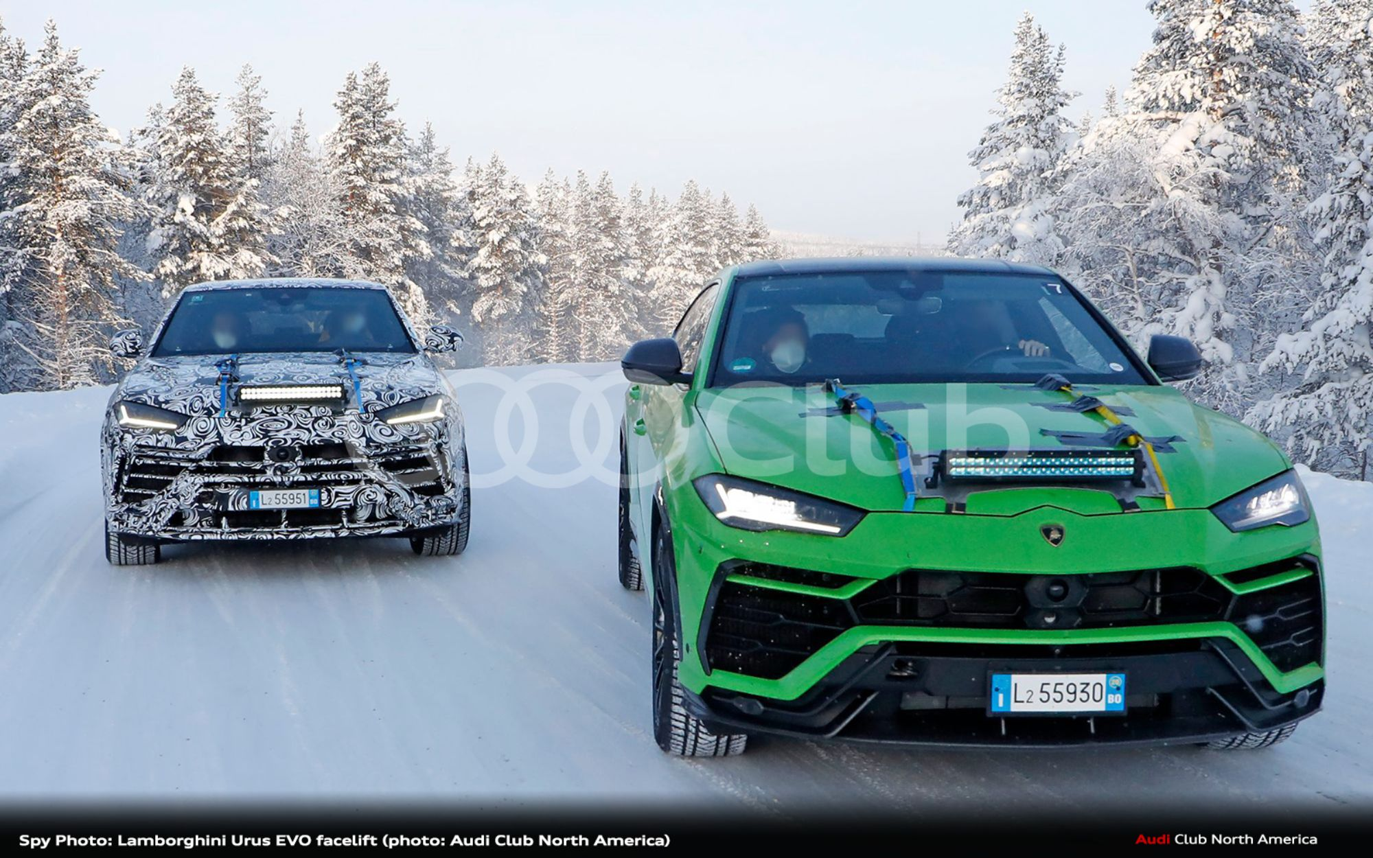 Spy Photo: Lamborghini Urus EVO Facelift