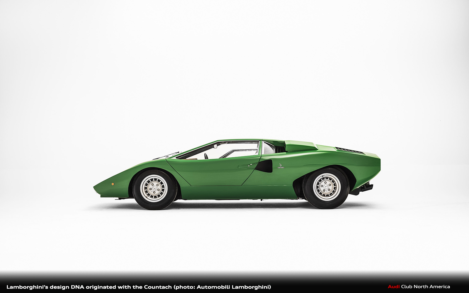 Lamborghini's Design DNA Originated with the Countach
