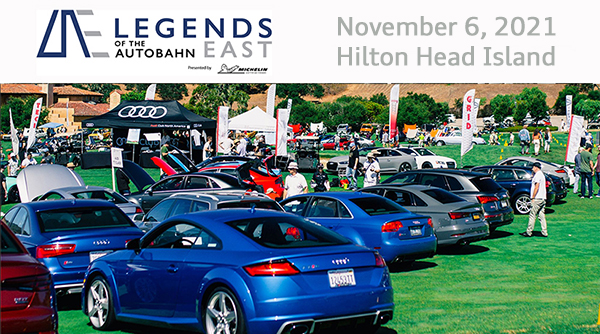 Legends of the Autobahn is Headed to the 2021 Hilton Head Councours d'Elegance and Motoring Festival