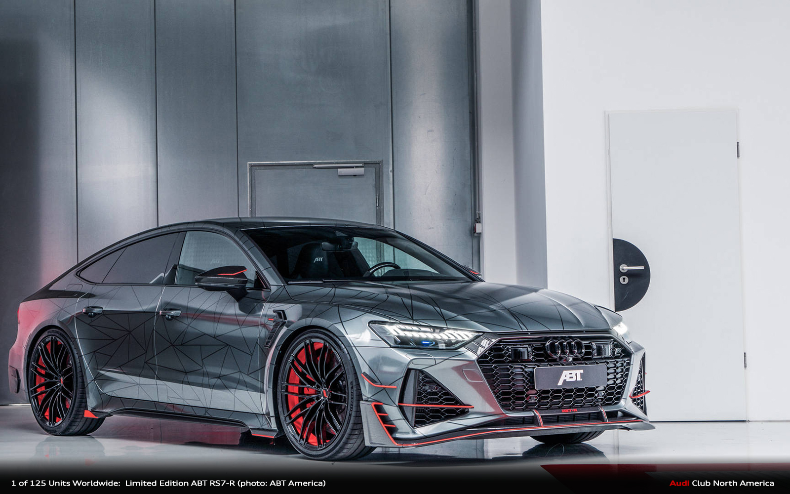 One of Its Kind - Limited Edition ABT RS7-R