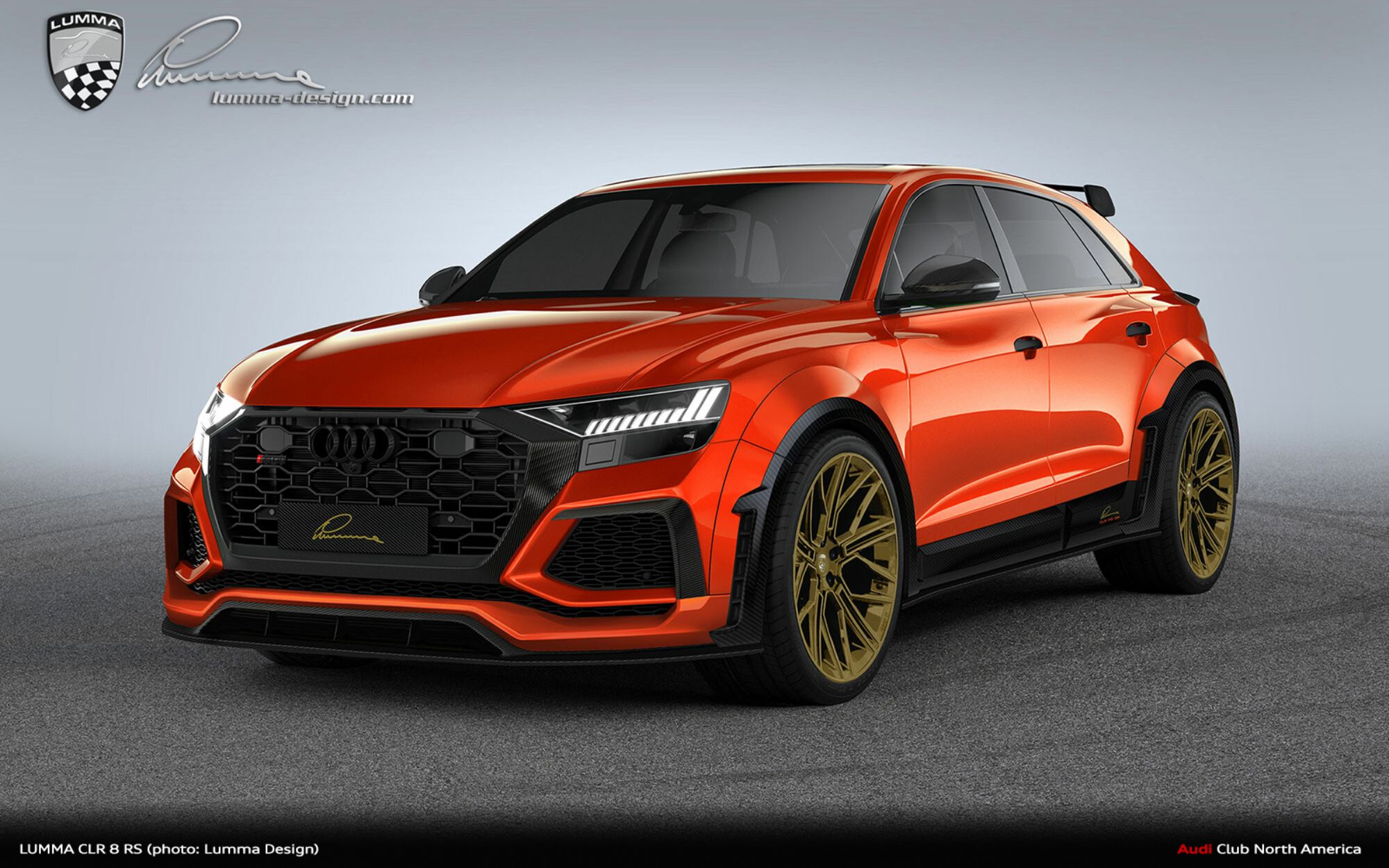 Lumma Design Makes The RS Q8 Bolder