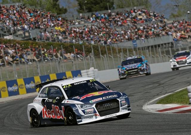 Rallycross: EKS Audi Sport Starts in the Spanish Sun