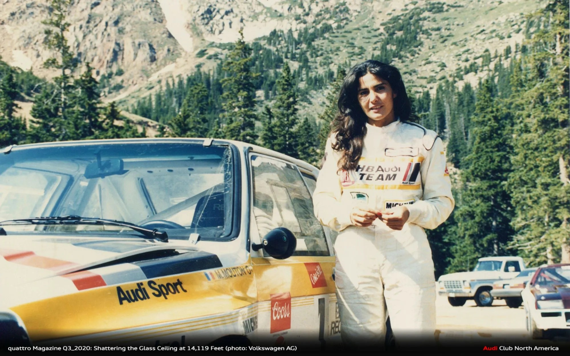 Shattering the Glass Ceiling at 14,119 Feet: Michèle Mouton & Her Record Run at Pike's Peak 35 Years On