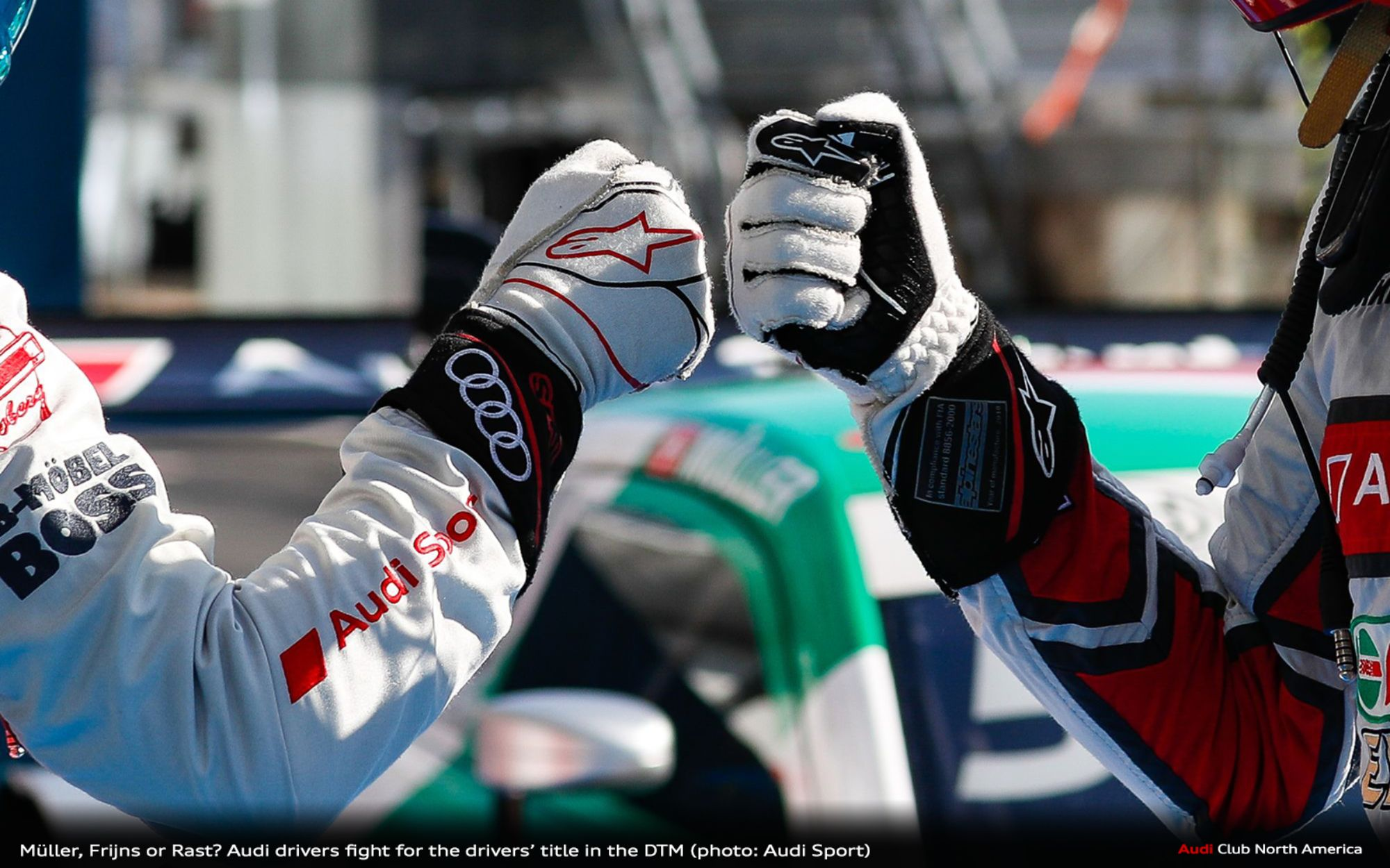 Müller, Frijns or Rast? Audi Drivers Fight for the Drivers' Title in the DTM