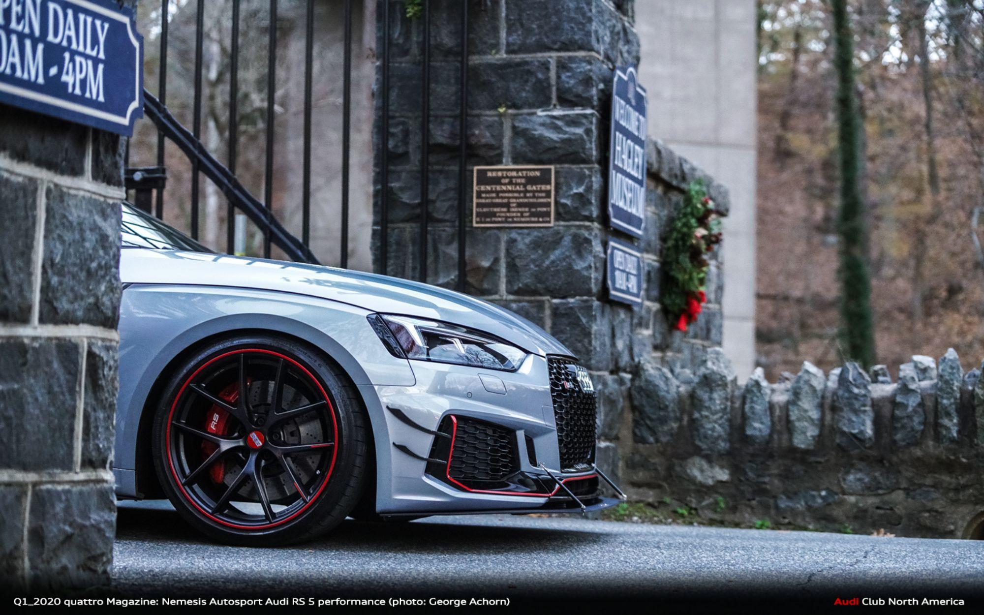 Q1_2020 quattro Magazine Feature: Nemesis Autosport Audi RS 5 performance at a Crossroads