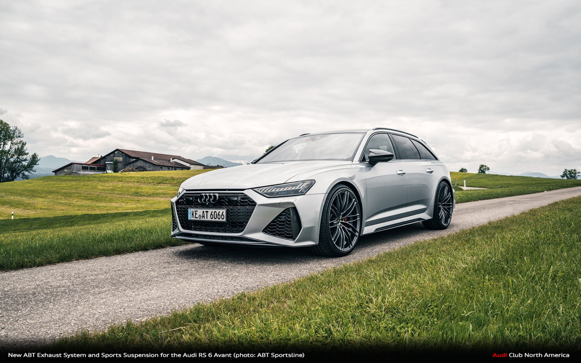 New Abt Exhaust System And Sports Suspension For The Audi Rs 6 Avant Audi Club North America
