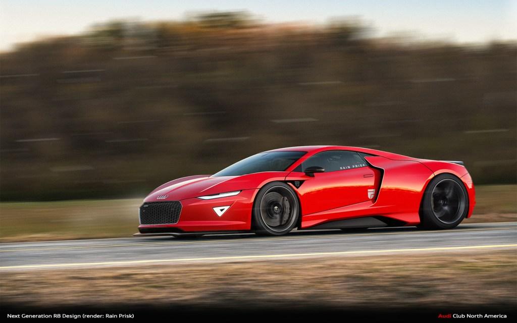 Rain Prisk: Fantasy Audi Model Renders