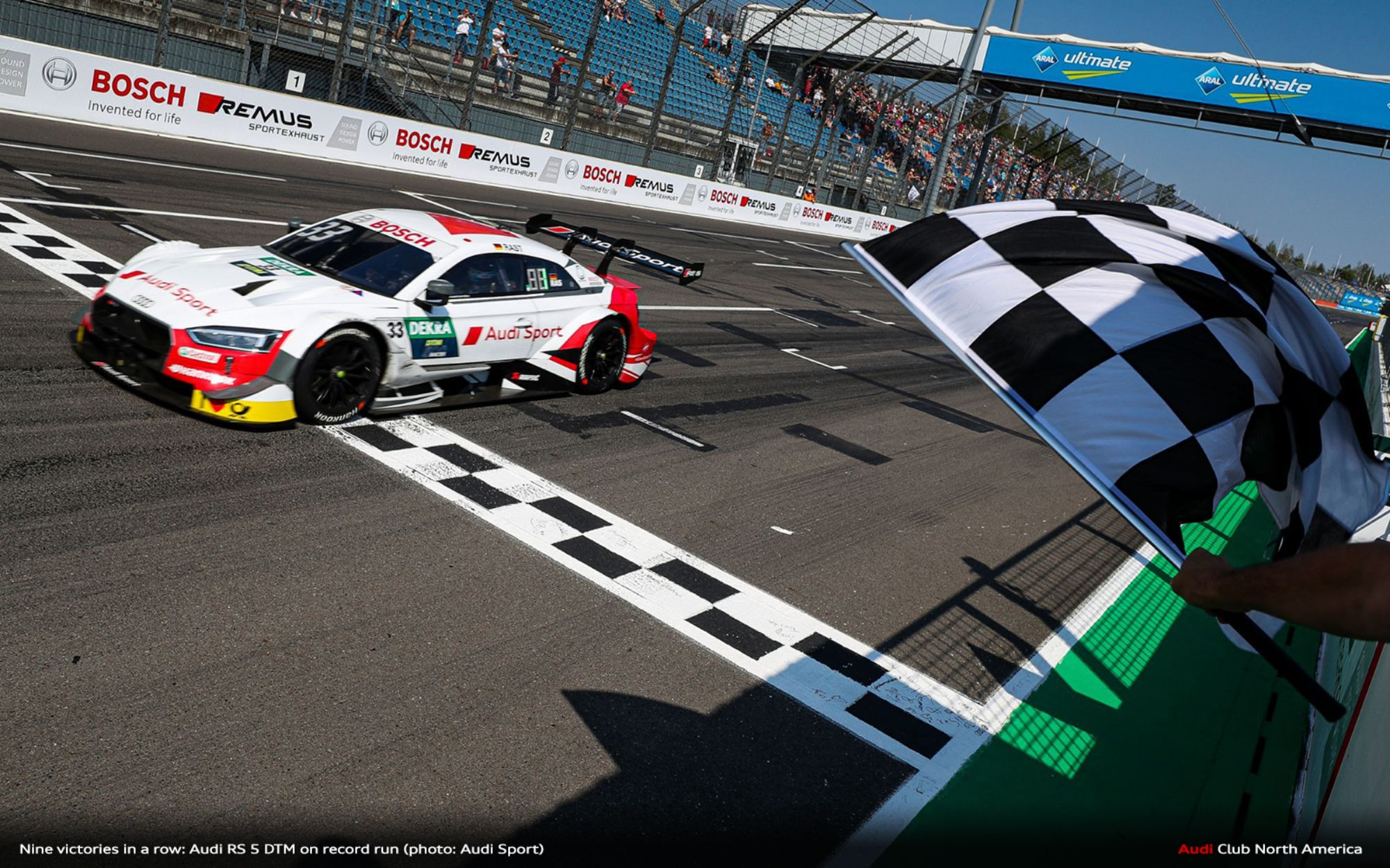 Nine Victories in a Row: Audi RS 5 DTM on Record Run
