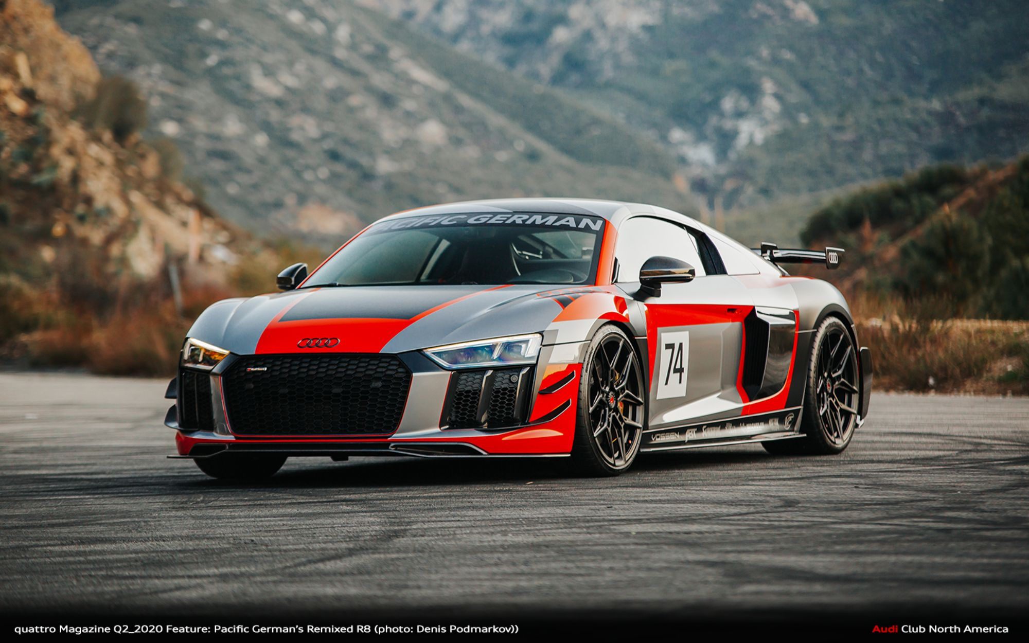 quattro Magazine Q2_2020 Feature: Pacific German's Remixed R8