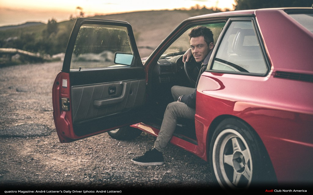 quattro Magazine: André Lotterer's Daily Driver